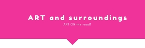 art and surroundings+art-on the road